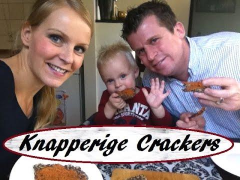Gezond Recept / Knapperige Crackers