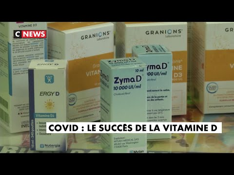 Covid : le succès de la vitamine D