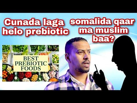 Sommige Somaliërs zijn moslims, het gebruikelijke dieet bevat probiotica