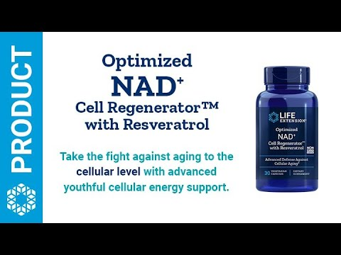 Optimized NAD+ Cell Regenerator™ with Resveratrol | Life Extension