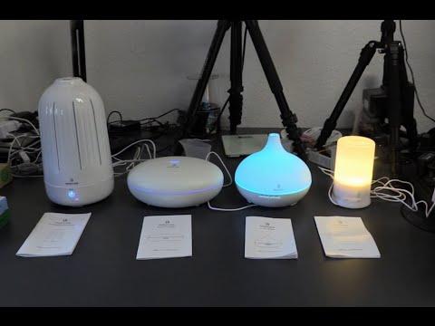 Aroma Diffuser – Luftbefeuchter – Duftzerstäuber – Aromatherapie – Raumduft