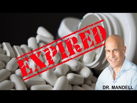 YOUR VITAMINS EXPIRATION DATE DOESN'T MEAN WHAT YOU THINK – Dr Alan Mandell, DC