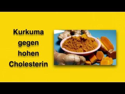 Kurkuma gegen hohen Cholesterin