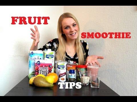 Fruit Smoothie Tips / Zo maak je Smoothies
