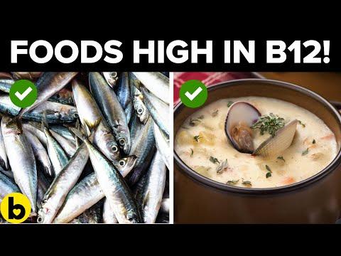 Top 6 maaltijden met veel vitamine B12!
