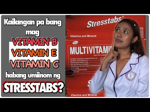 STRESSTABS BENEFITS | STRESSTABS MULTIVITAMINS PLUS IRON REVIEW | STRESSTABS REVIEW | IRON BENEFITS
