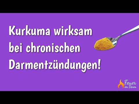 Kurkuma wirksam bei chronischen Darmentzündungen!