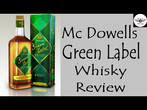 Mc Dowells Green Label Whisky Review in Hindi | #wheelsofWhisky |
