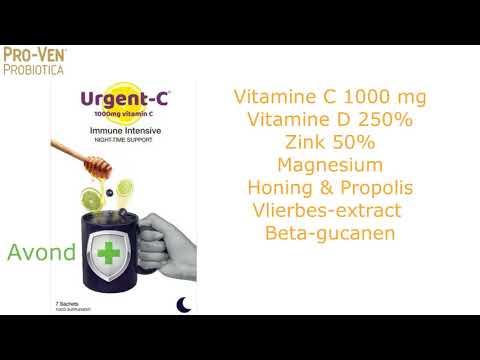 Urgent-C voedingssupplementen voor meer weerstand (1)