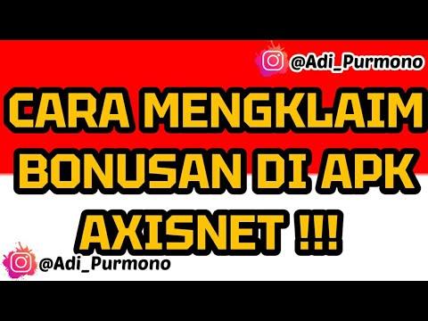 CARA MENGKLAIM BONUSAN DI APK AXISNET !!!