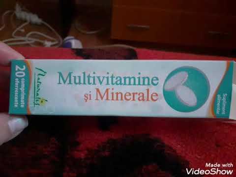 Multivitamine și Minerale