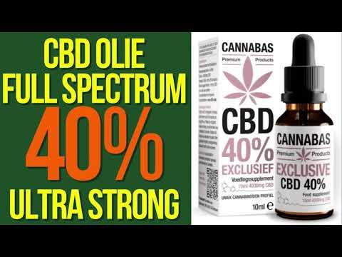 CBD Olie 40% Full Spectrum Cannabas