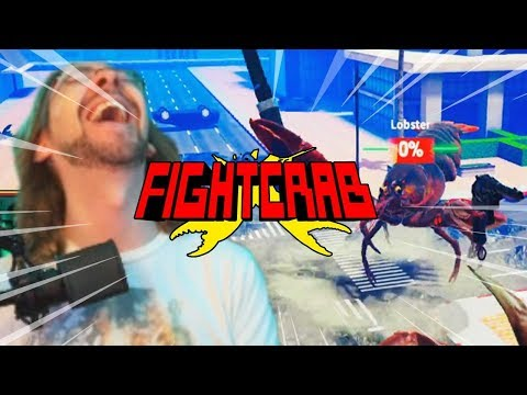 THE LOBSTER HAS A GUN…This Game Is Incredible: FIGHT CRAB w/Maximilian (Part 1)