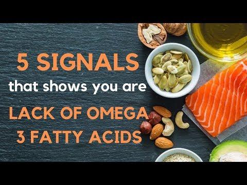5 ZNAKOVA da vam nedostaju OMEGA-3 masne kiseline/5 SIGNS that you are LACK OF OMEGA-3 fatty acids