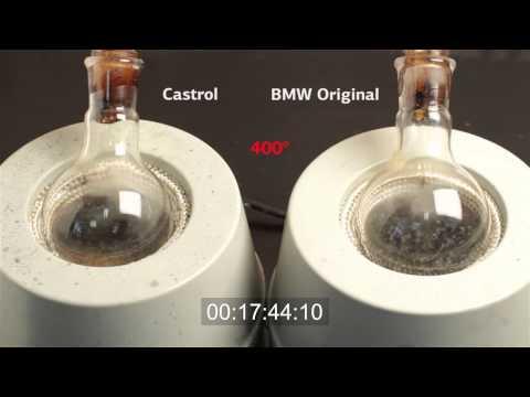 Castrol EDGE vs BMW 5W30 oils contest