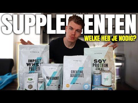 WELKE SUPPLEMENTEN HEB JE NODIG? | Alles over eiwit shakes, creatine, visolie (omega 3) & vitamine d