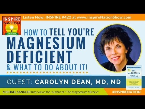 Geef je gezondheid en vitaliteit een boost met magnesium! Het magnesiumwonder met Dr. Carolyn Dean