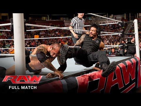 FULL MATCH – Roman Reigns vs. Batista: Raw, May 12, 2014