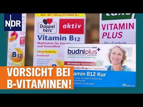 Voedingssupplementen: vermijd overdosering met vitamine B12 | Bezoek | NDR