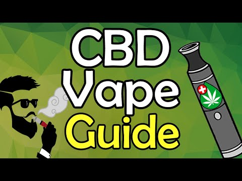 CBD Vape Guide    How To, Best Brand, Dosage, Benefits, Side Effects Of Vaping CBD Oil & MORE!