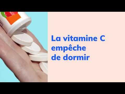 [ ID reçue #01 ] La vitamine C empêche de dormir