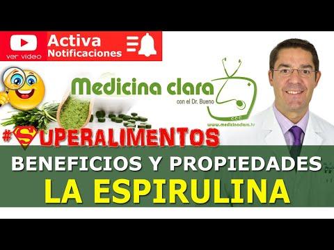 ESPIRULINA ✅ ¿Cómo se come? ¿💪🏻SUPERALIMENTO?. BENEFICIOS reales   Medicina Clara