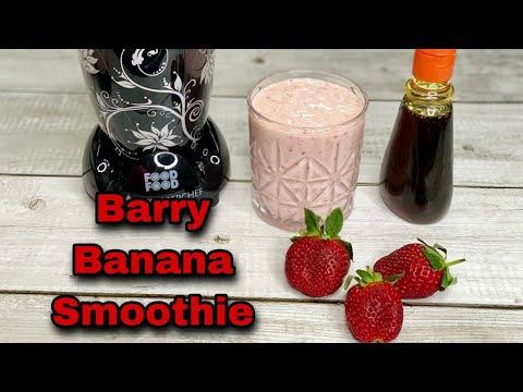 Antioxidanten Barry Banana Smoothiedrink / Smoothie / Mukhtalif Zaayeke,