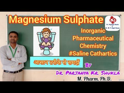 Magnesium Sulphate | Intro, Prepration, Properties, Uses | IPC | Saline Laxative | BP 104T