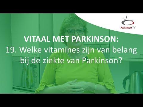 Welke vitamines zijn van belang bij de ziekte van Parkinson?   Vitaal met Parkinson