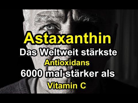 ASTAXANTHIN Das weltweit stärkste Antioxidans-Astaxanthin Wirkung