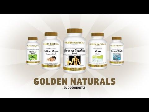 Golden Naturals supplementen | Natusor