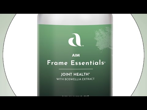 Frame Essentials – With effective, standardized boswellia extract