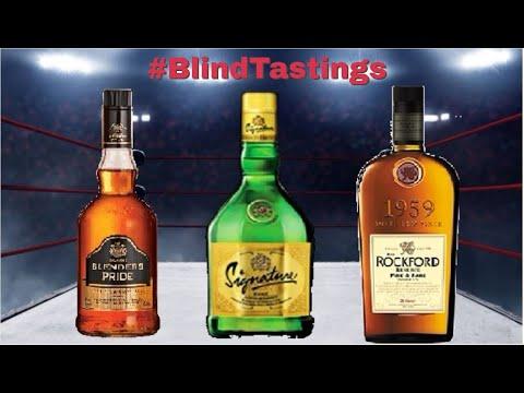 Blenders Pride vs Signature vs Rockford   Triple Threat   Blind Matchup   #BlindTastings