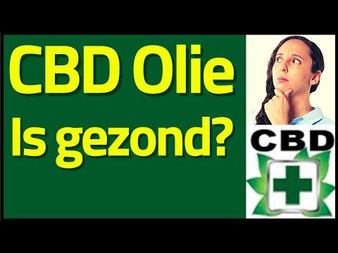 Is CBD olie gezond?