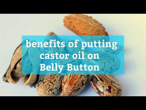 Amazing facts about Belly Button and benefits of applying castor oil on it