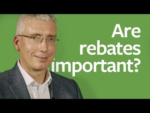 Are rebates important?