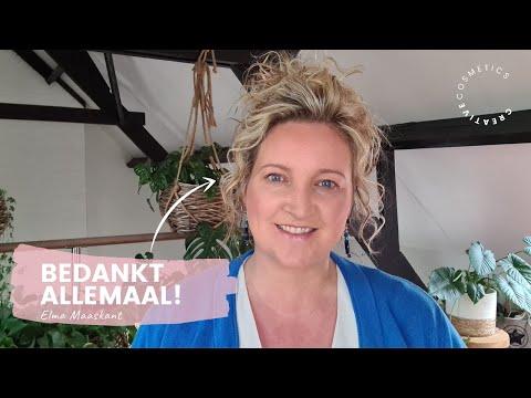 Persoonlijke videoboodschap van Elma ♥ || Creative Cosmetics