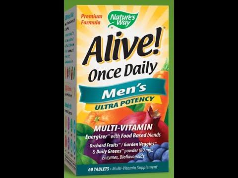 #mochafitness | Alive men multivitamine | فايتامين و معادن