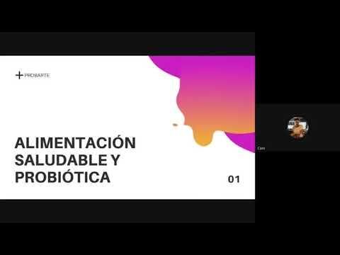CHARLA ALIMENTACION PROBIOTICA 29-05-21