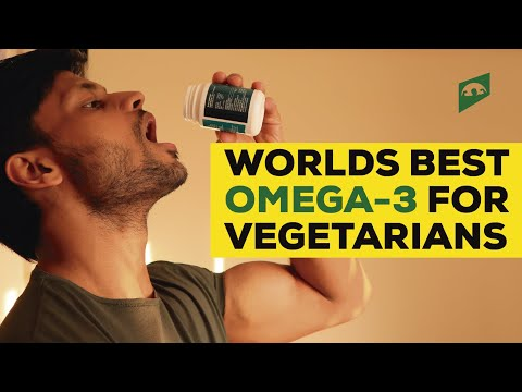 BEST OMEGA-3 SUPPLEMENT FOR VEGETARIANS AND VEGANS || NO ONE HAS EVER TOLD YOU THIS ||