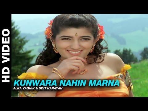 Kunwara Nahin Marna – Jaan   Alka Yagnik & Udit Narayan   Ajay Devgn, Amrish Puri & Twinkle Khanna