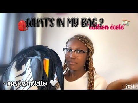WHAT'S IN MY SCHOOL BAG + mes essentielles* 🎒