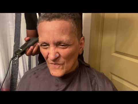 Nan's Getting a Haircut 😂😅