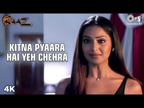 Kitna Pyaara Hai Yeh Chehra | Bipasha Basu | Dino Morea | Alka Y | Udit N | Raaz | Hindi Love Song
