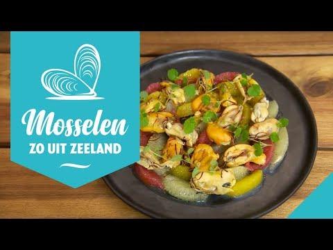 Zo lekker: Zeeuwse mosselen met saffraan, citrusvruchten en Arganolie.