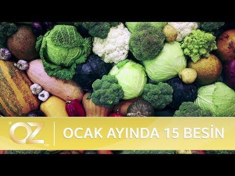 Ocak ayında hangi sebze ve meyve tüketilmelidir?