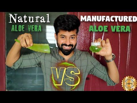 Benefits of ALOE VERA | Natural vs Manufactured | Green Leaf Aloe vera Jel | Tamil | Shadhik azeez