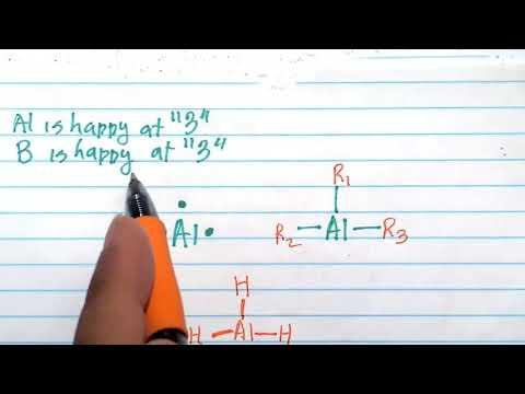 Lewis Structures: Aluminum and Boron love 3