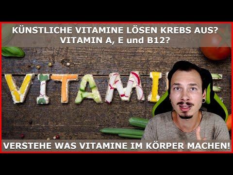 KUNSTMATIGE vitamines (vitamine E, A, B12) kanker veroorzaken? Vergeet deze onderzoeken!