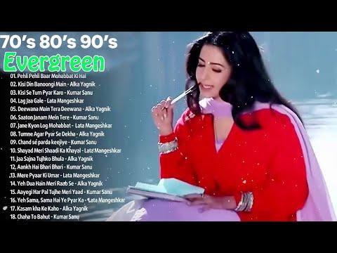 80's70's90's Evergreen Old Hindi Songs💖💙💖Alka Yagnik💖Udit Narayan💖Lata Mangeshkar💖Kumar Sanu💖